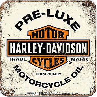 Harley Davidson ennen Luxe (haalea) juomia Mat / Coaster