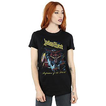 Judas Priest kvinders forsvarer af troen kæreste Fit T-Shirt