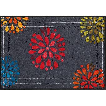 Fireworks by Salon lion washable floor mat Fireworks