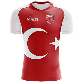 2020-2021 تركيا مفهوم المنزل لكرة القدم قميص