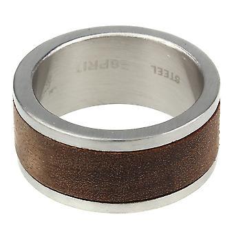 Esprit anillo acero ESRG11552