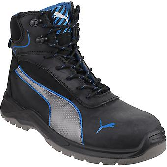 Puma Safety Footwear Mens Atomic Heel Mid Antistatic Laceup S3 Safety Boots