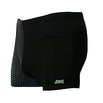 ZOGGS mannen brug Hip Racer - zwart/groen