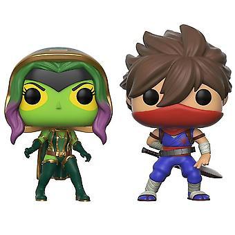 Pop! Games Vinyl Marvel 2 Pack Gamora Vs Strider