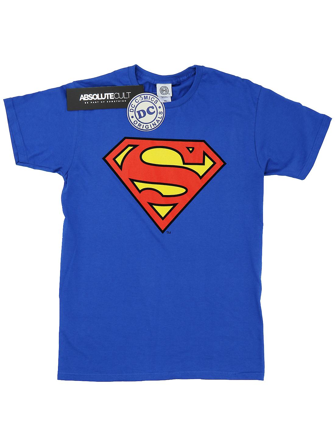 DC Comics Women's Superman Logo Boyfriend Fit T-Shirt