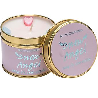 Bomb Cosmetics Tinned Candle - Snow Angel