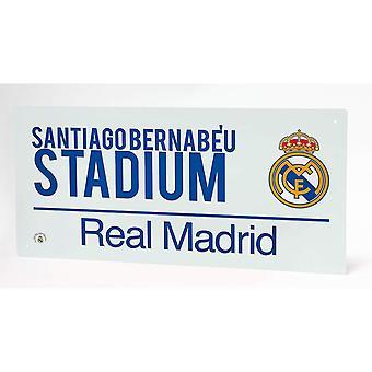 Real Madrid CF Street Sign