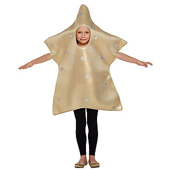 Christmas Shop Childrens/Kids Star Fancy Dress Costume