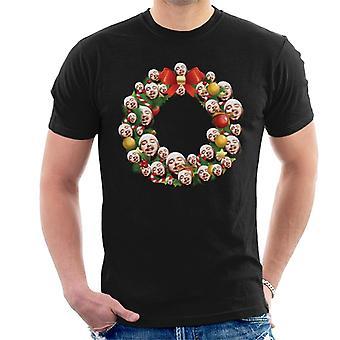 Kerst krans Multi Post Malone T-Shirt voor mannen