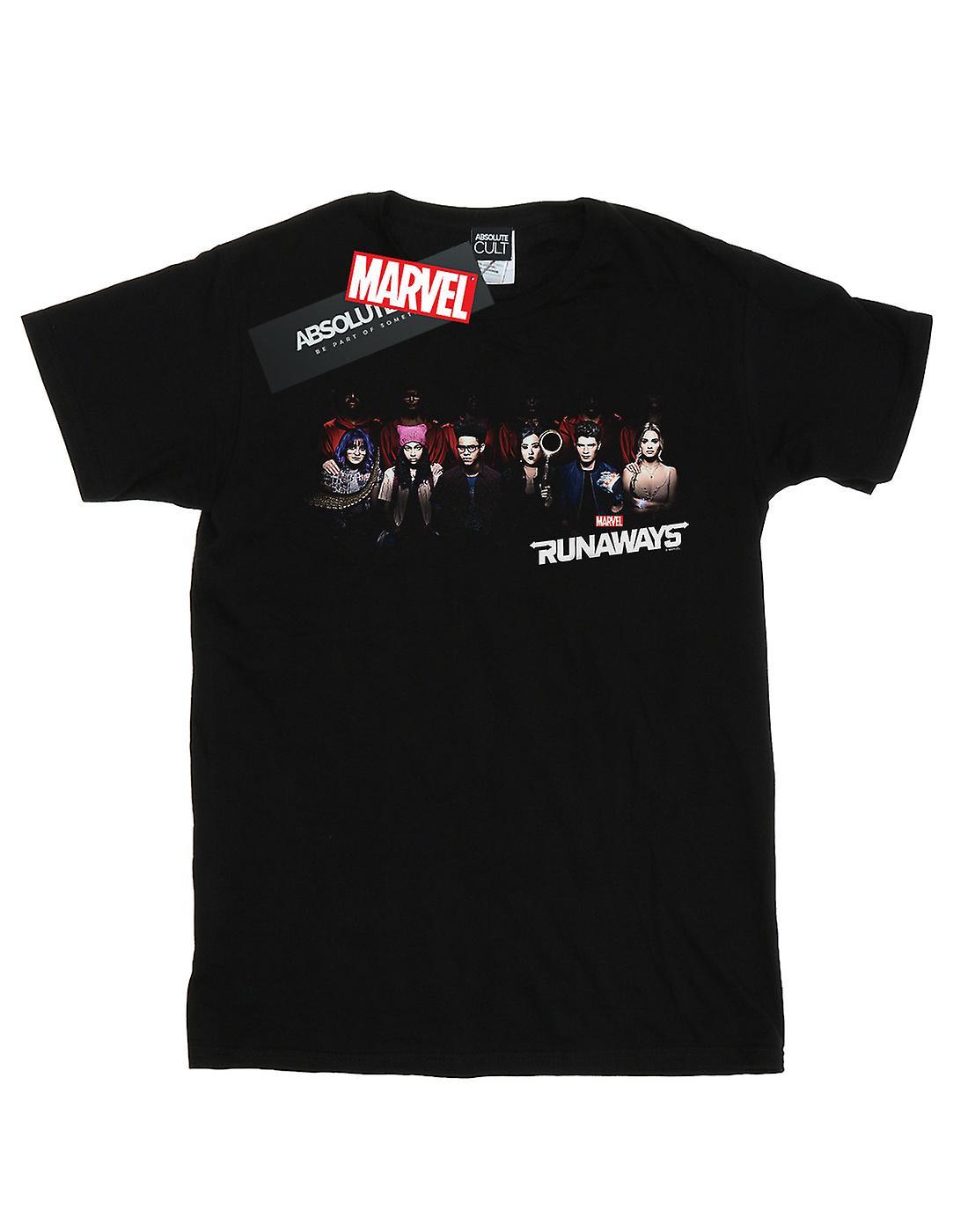 Marvel Men's Runaways Lineup T-Shirt