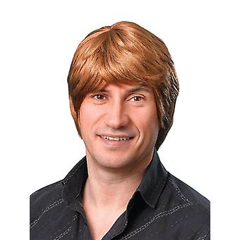 Male Wig. Short. Brown.