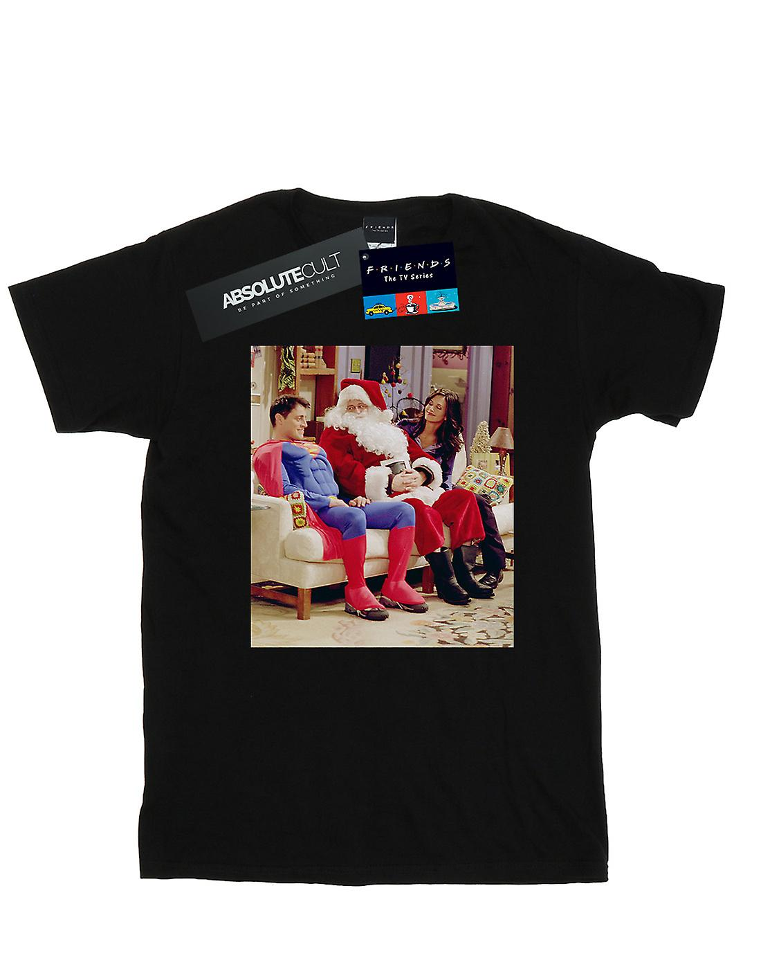 Friends Girls Couch Santa T-Shirt