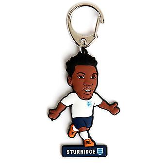 إنكلترا في كرة القدم البلاستيكية حلقة مفاتيح Sturridge