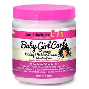 Aunt Jackie's Girls Baby Girl Curls Curling & Twisting Custard 511g