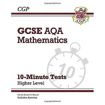Nouveau Grade 9-1 GCSE Maths AQA 10 minutes essais - supérieurs (y compris les réponses)
