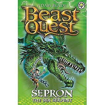 Sepron de koning van de zee (Beast Quest)