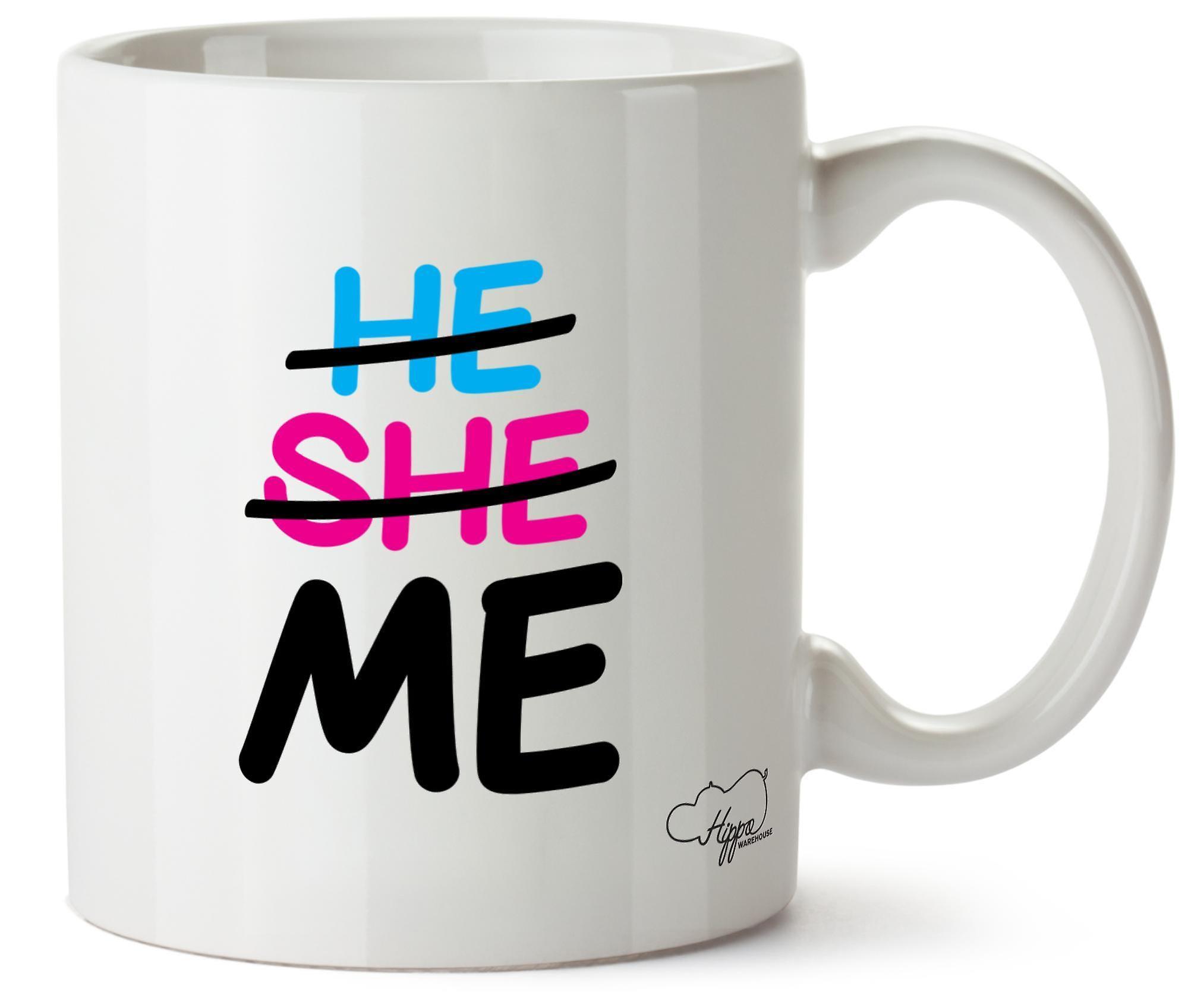 Он Hippowarehouse она меня напечатаны кружка чашка керамическая 10 oz