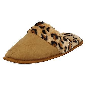 Kære plet på Leopard Print tøffel muldyr