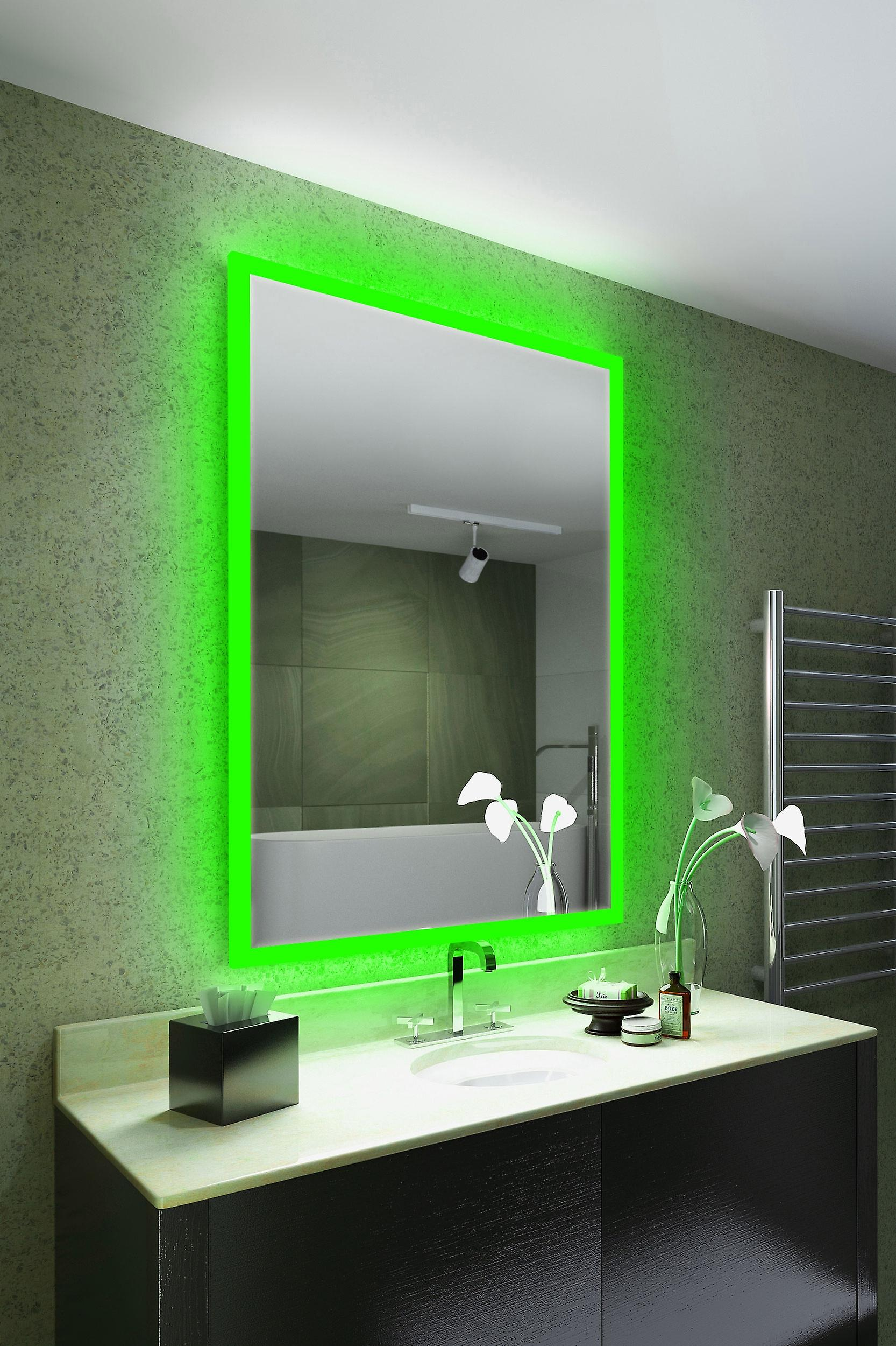 RGB Audio Shaver Mirror with Bluetooth Demist Sensor K842ivrgbaud