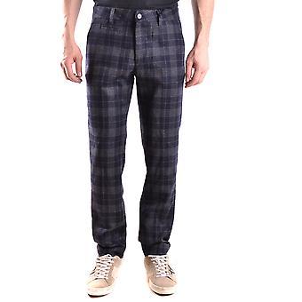 Peuterey Ezbc017041 Men's Multicolor Wool Pants