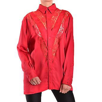 Céline Ezbc064016 Dames's Rood Zijden Shirt
