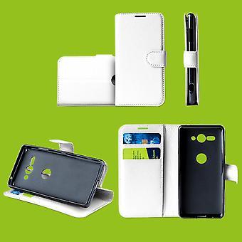 Voor Samsung Galaxy M20 6.3 inch Pocket portemonnee premium witte beschermhoes case pouch cover nieuwe accessoires