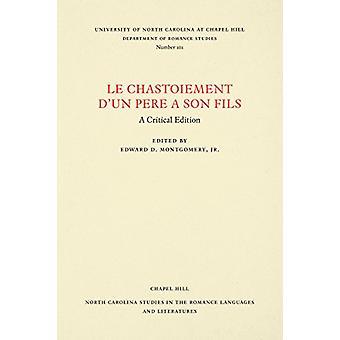 Le Chastoiement d ' un Pere ein Sohn Fils - eine kritische Ausgabe von Petrus Al