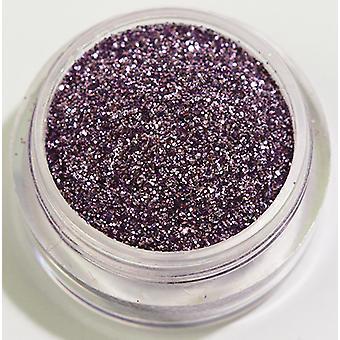 1pcs feinkörnigen Glitzer violett
