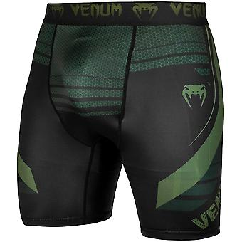 Venum Technical 2.0 Compression Shorts - Black/Khaki