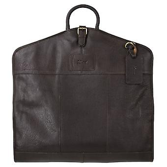 Ashwood Ashwood Harper Leather Suit Carrier