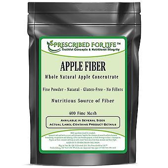 Apple Fiber - Whole Non-GMO Natural Apple Concentrate Powder - No Fillers