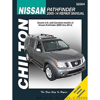 Nissan Pathfinder Automotive Repair Manual - 2005-14 by Anon - 9781620