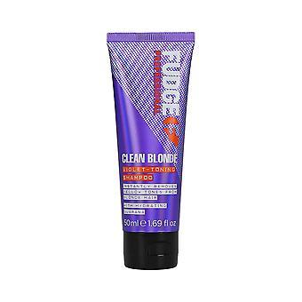 Fudge Clean Blonde Violet Toning Shampooing 50ml