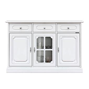 Credenzina lacquered with Central showcase