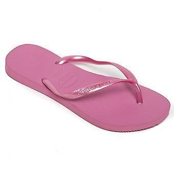 Havaianas Slim Flip floppeja, jää vaaleanpunainen