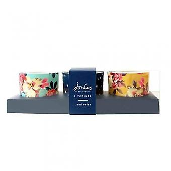 Joules Set Of 3 Votive Tea Light Holders | Gifts From Handpicked