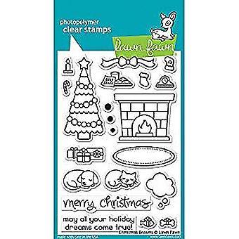حديقة فون الطوابع واضحة 4 & نقلا عن X6 & نقلا عن أحلام عيد الميلاد