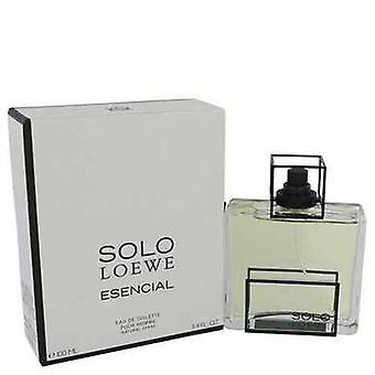 Solo Loewe Esencial By Loewe Eau De Toilette Spray 3.4 Oz (men) V728-542024