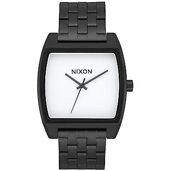 Nixon time tracker watch for Japanese Quartz Analog Woman with A1245005 Stainless Steel Bracelet