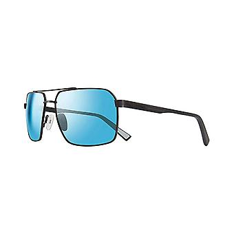 Revo RE 1048 01 BL Pax Polarized Sunglasses Black with Blue Water 59mm Lenses