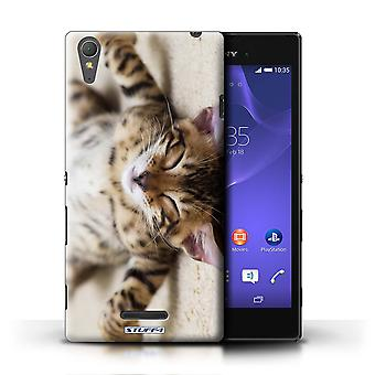 STUFF4 Case/Cover voor Sony Xperia T3/Flat Out/schattige Kittens
