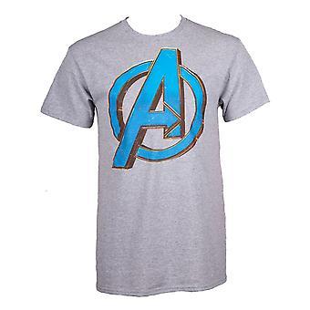 Avengers Endgame A logo miesten ' s T-paita