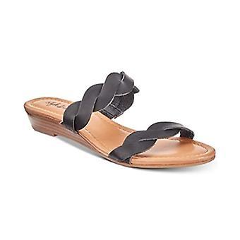 Style & Co. WENNDE Slide Sandals Black 8.5M