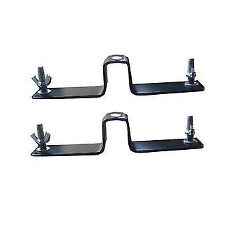 SOPORTE de rodillos BRESSER BR-D90 PRO-1 Pararal de pares para sistema de fondo