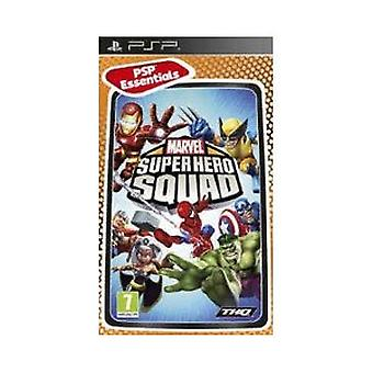 Marvel Super Hero Squad-Essentials (PSP)-nieuw
