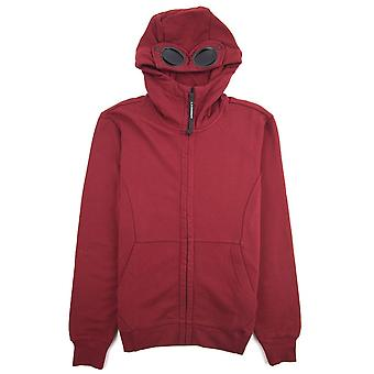 CP Company Diagonal Raised Fleece Goggle Full Zip Hoodie Scooter 576