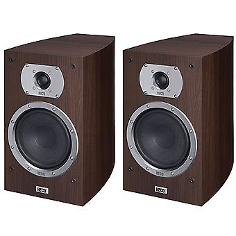 B goods Heco Victa Prime 302, 2 way bass reflex, 150 Watts Max, espresso 1 pair