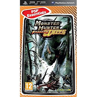 Monster Hunter Freedom Unite - Essentials (PSP) - Nouveau