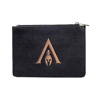 Assassins Creed Odyssey Purse Wallet Premium Pouch new Official  Black