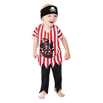 Småbørn Jolly Pirate Fancy kjole kostume